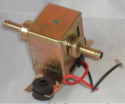 12V Bomba Eléctrica de Combustible Universal Gasolina Diesel FACET Posi Flujo