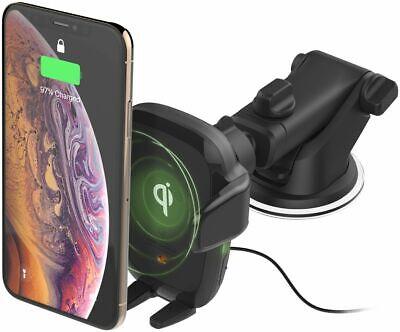 autosense wireless qi charging car dashmount