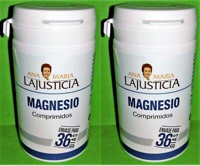 Magnesio 2x147 comprimidos ANA MARIA LAJUSTICIA