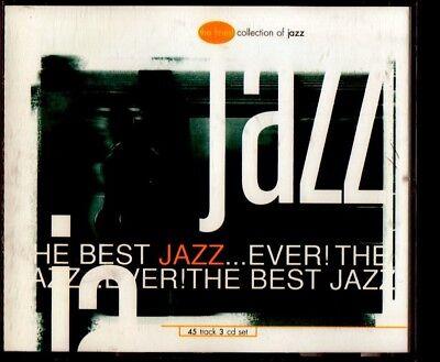 THE BEST JAZZ EVER 3-CD BOX 1996 CIRCA RECORDS MILES DAVIS GEORGIE FAME (Best Jazz Records Ever)