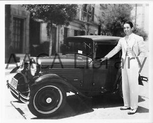 1930-Austin-American-Bantam-Coupe-actor-Factory-Photograph-Ref-22525