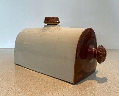 Antique Vintage Ceramic Pottery Hot Water Bottle Bed / Foot Warmer !!