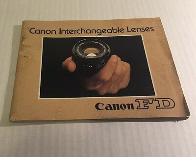 Инструкции и руководства Rare Vintage Canon
