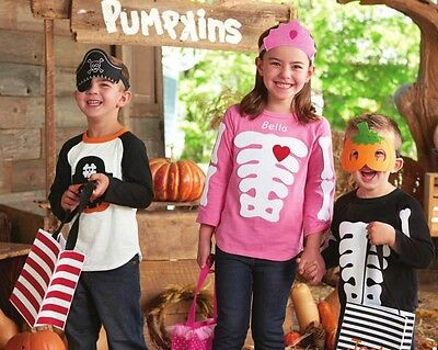 Mud Pie Skeleton or Pumpkin Pirate Halloween Shirts](Halloween Mud Pies)