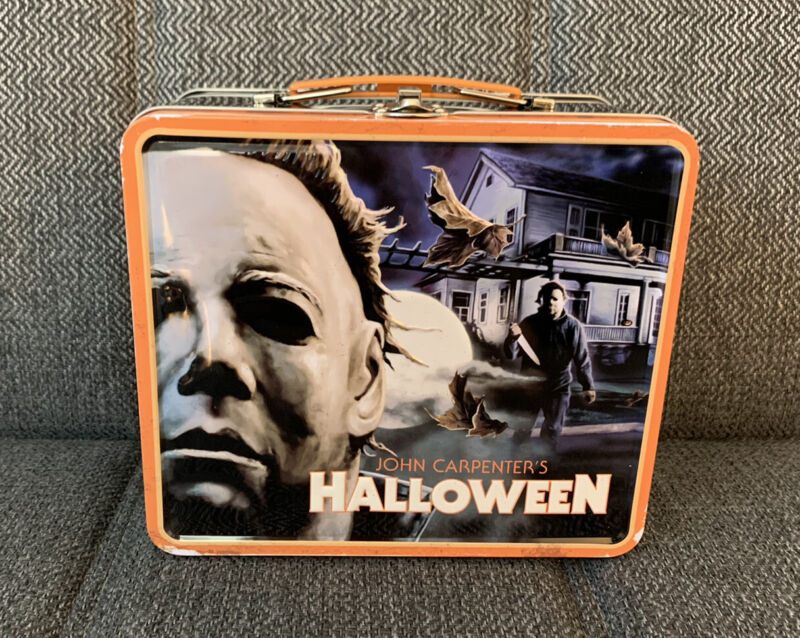 Fright Rags Michael Myers Halloween Lunchbox & Thermos Set NEW OOP