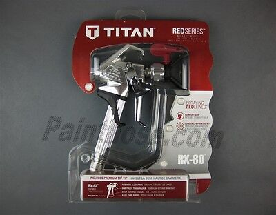 Titan 0538006 Rx-80 Airless Spray Gun Red Series - Oem