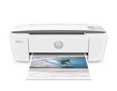 HP DeskJet 3755 All-in-One Printer (J9V90A) White with PINK Accent