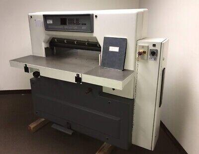 Schneider-senator 76 Sc 30 Programmable Paper Cutter With Air Table