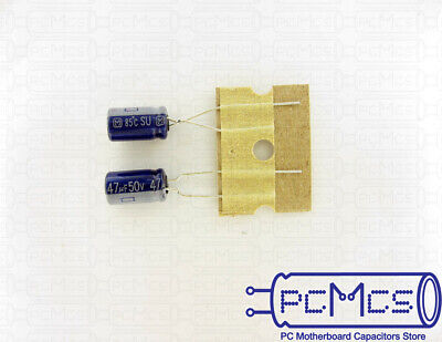 50V 0.47UF Made in Japan Capacitor 5x11.5 M 30 Pcs of Panasonic