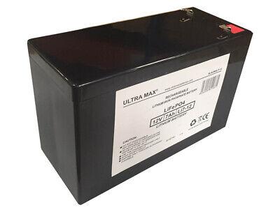 ULTRAMAX 12V 7AH Batería de Litio Toy Coche Bicicleta Eléctrica Feber Peg...