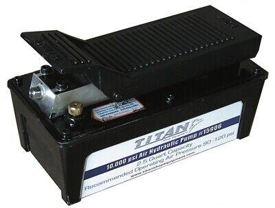 Ame 15906 5500 Psi 2.5 Quart Titan Air Hydraulic Pump With Aluminum Reservoir