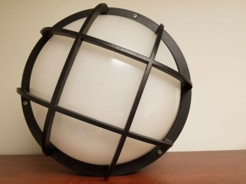 BEGA Wall/Ceiling Light Sconce with Grid Pattern using  PLC lamps