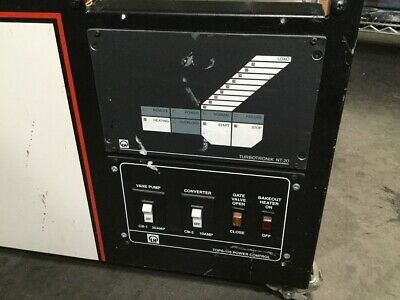 Leybold Nt20 Turbotronic Turbo Vacume Pump Controller Wtops 110power Controller