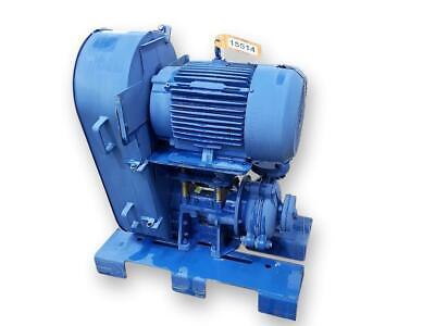 1.5 X 1 Weir Warman B-ah Metal-lined Horizontal 15 Hp Centrifugal Slurry Pump