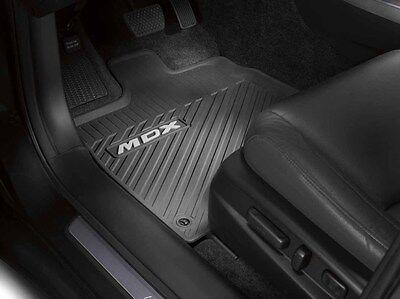 Genuine OEM Acura 2014  16 MDX All Season Floor Mat Set in Black 08P13 TZ5 210A