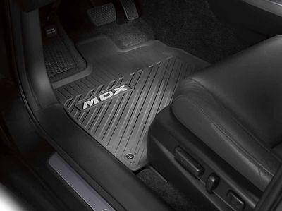2014 Acura MDX OEM All Season Floor Mats Black NEW