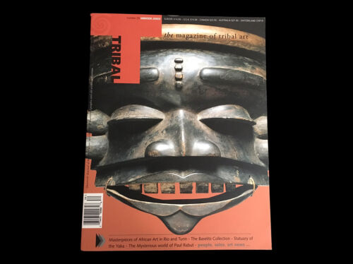 TRIBAL ART MAGAZINE #33  WINTER 2003  MASTERPIECES OF AFRICAN ART TURIN KHOSI