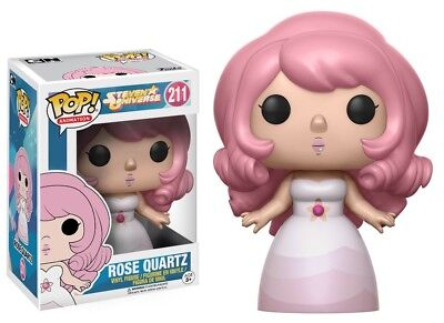 Funko   Pop Animation  Steven Universe   Rose Quartz Vinyl Action Figure New