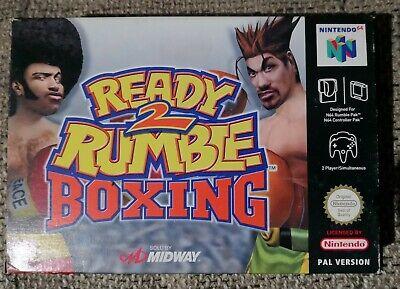 Ready 2 Rumble Boxing - N64 Nintendo 64 PA Neu OVP Neuware