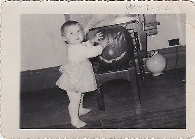 Halloween 1952 (Vintage 1952 Baby and Halloween JOL Jack o Lantern Pierre SD)