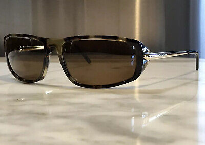 Cartier Havana Vintage Sunglasses Glasses Frames Wood Horn Gold Wire
