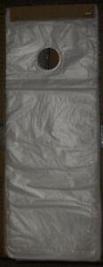 100 PLASTIC DOOR HANGER DOOR KNOB BAGS 6.5 x 16  Free Shipping