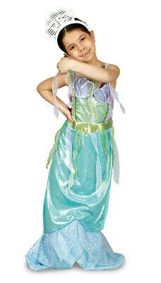 Kleine Meerjungfrau Udine Nixe Kinder Kostüm Märchen Mädchen - Kleine Meerjungfrau Kostüme