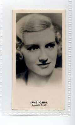 (Jf8411) LEA,RADIO STARS(GLOSSY),JANE CARR,1935,#7