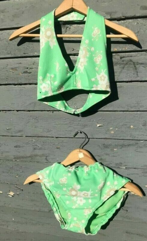 Vintage 50s/60s Womens Swimsuit Size XS