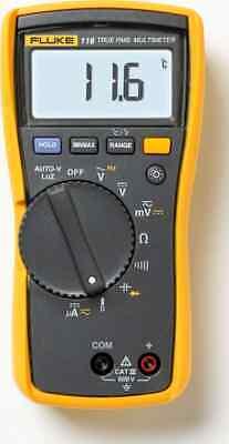 Fluke 116 Digital Hvac Multimeter True Rms W Fluke Case Hanging Strap - New