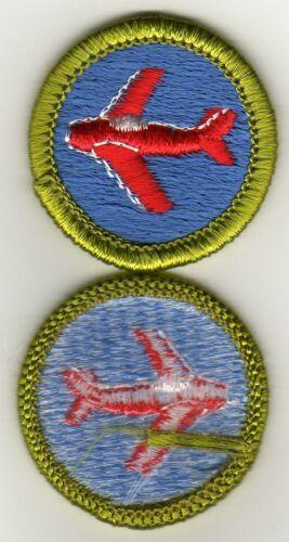 Aviation Merit Badge, Type H, Clear Plastic Back (1971-2001), Mint!