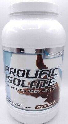 G6 Sports Nutrition Prolific Isolate All Natural Whey Protein Isolate 2.5 lbs