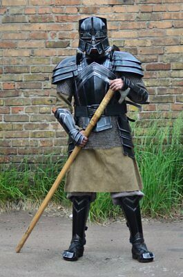 Medieval Armor FULL SUIT MORIA Halloween Costume Cosplay Lord Of The Ring (The Origins Of Halloween Costumes)
