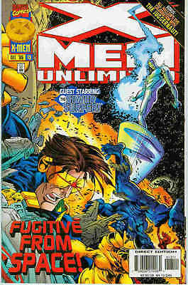X-Men Unlimited # 13 (guest-starring Silver Surfer) (68 pages) (USA, 1996)