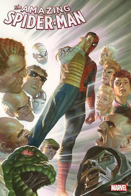 """AMAZING SPIDERMAN #15 IRON SPIDER MARY JANE BY ALEX ROSS 24 X 36/"""" POSTER!"""