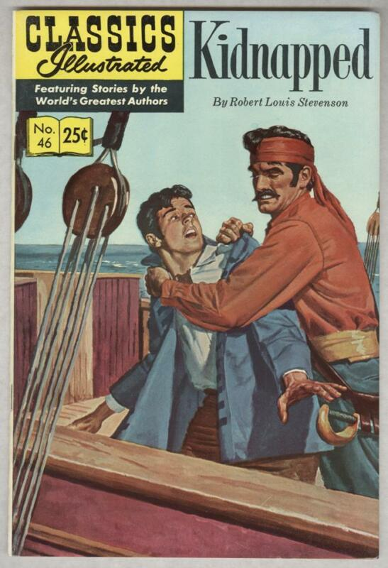 Classics Illustrated #46 Summer 1970 VF Kidnapped