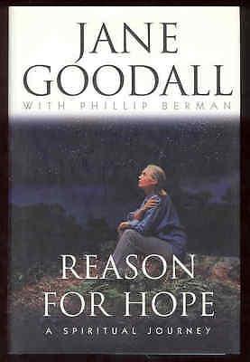 Reason For Hope Book Jane Goodall Tanzania Gombe Chimps