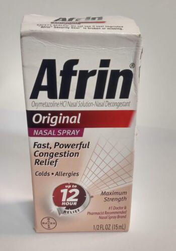 Afrin Nasal Spray 12 Hour Relief, Original, 0.5 fl oz