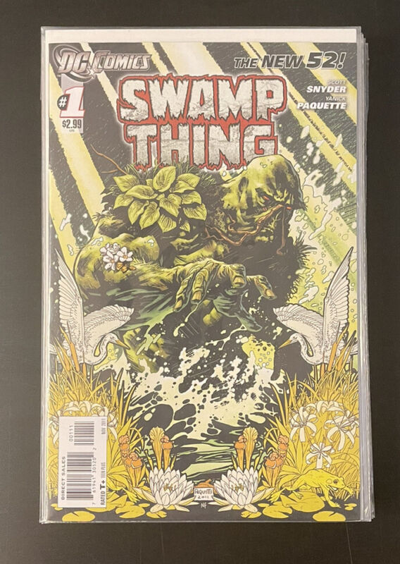 Swamp Thing #0, 1-17 + Annual 1 (Lot of 20) New 52 (2011) Scott Snyder