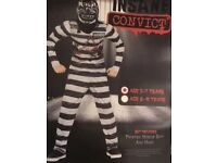 Boys Halloween Insane Convicted Costume Age 5-7