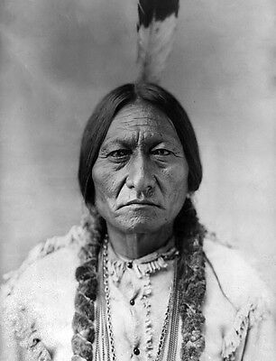 SITTING BULL 8X10 GLOSSY PHOTO PICTURE