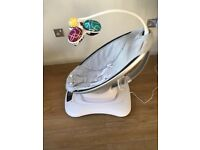 4moms mamaRoo 4.0 classic grey baby swing bouncer