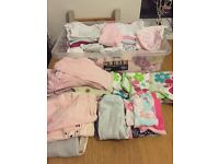 Baby girls clothes in a bundle 0-3 months