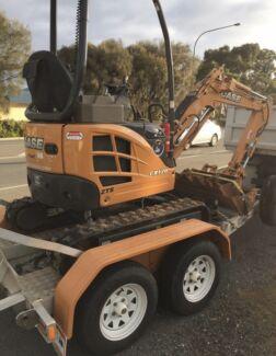 Mini excavator hire