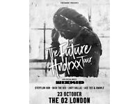 4 FUTURE TICKETS FOR 23/10 O2 LONDON