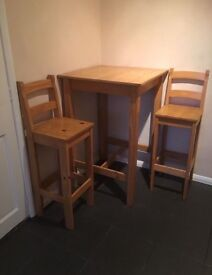 Kitchen table and chairs -£35 ONO