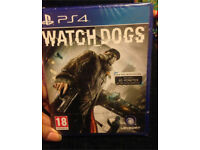 Watch dogs PS4 game - brand new
