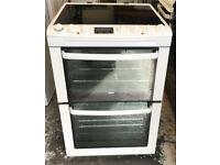 Zanussi ceramic electric cooker 60 cm