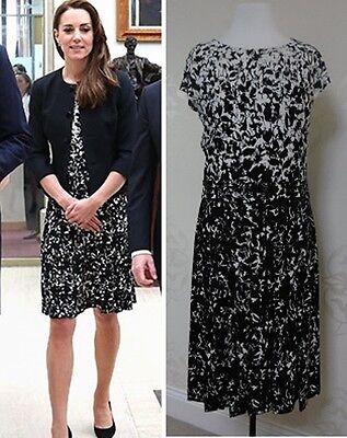 Tory Burch SOPHIA Matte Jersey Crewneck Dress Size M BNWT RRP £345