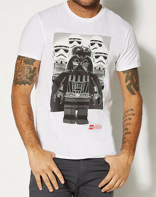 Lego STAR WARS DARTH VADER STORM TROOPERS T-Shirt NWT Licensed & Official (Darth Vader T Shirt)